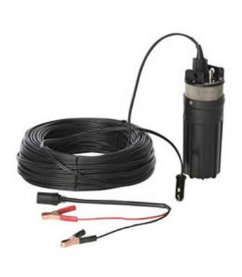 Proactive Abyss [P-10380] 12V Engineered Plastic Pump with 230' Wire Lead & Battery Clamps