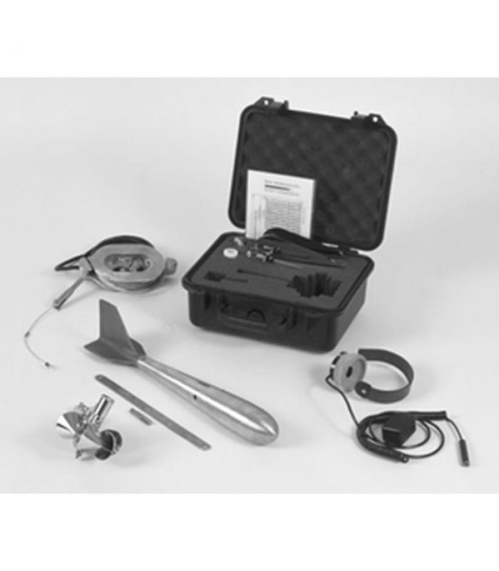 Rickly Hydrological USGS Type AA [103-006] Current Meter Cable Suspended Outfit w/ Headphones