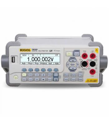 Rigol DM3000 [DM3068] 6 1/2 Digit Benchtop Digital Multimeter with USB, LXI, GPIB, and RS-232 Interfaces Standard
