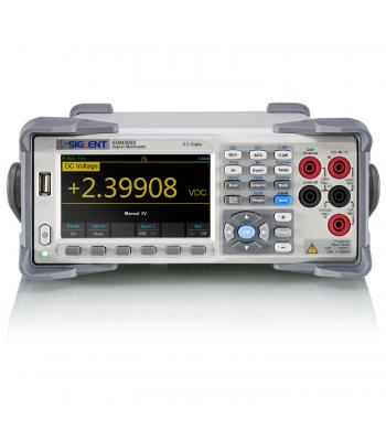 Siglent SDM3055 [SDM3055-SC] 5 ½ Digits Dual-Display Digital Multimeter w/ Scanner Card