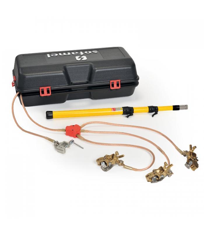 Sofamel PATC-MPUB/5050 [665230] Three-Phase Short Circuiting and Earthing Kit