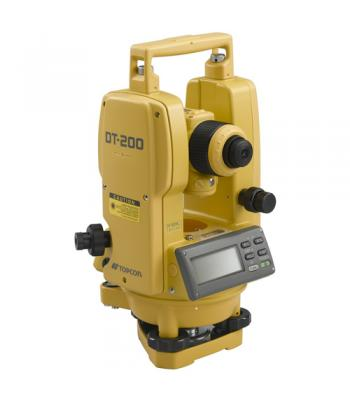 Topcon DT-200 Series Advanced Digital Theodolite