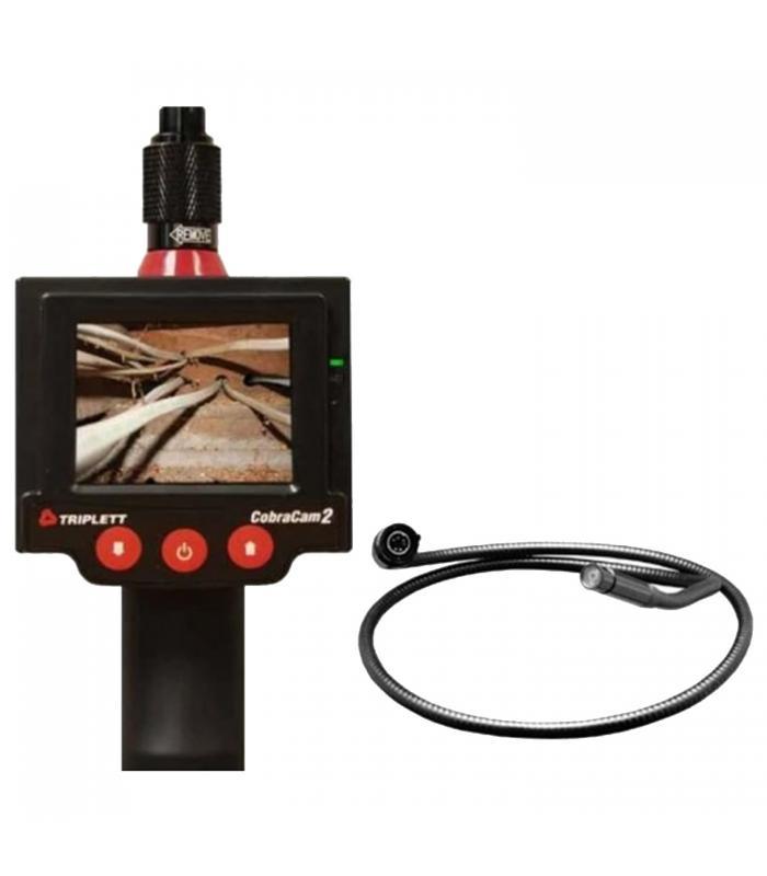 Triplett 8115 [8115-KIT10] Promo CobraCam 2 Inspection Camera with CC2-CAM10F Camera Head 10''