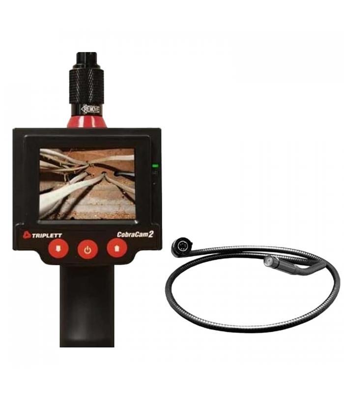 Triplett 8115 [8115-KIT3] Promo CobraCam 2 Inspection Camera with CC2-CAM3F Camera Head 3''