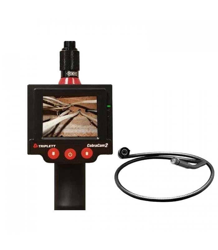 Triplett 8115 [8115-KIT6] Promo CobraCam 2 Inspection Camera with CC2-CAM6F Camera Head 6''