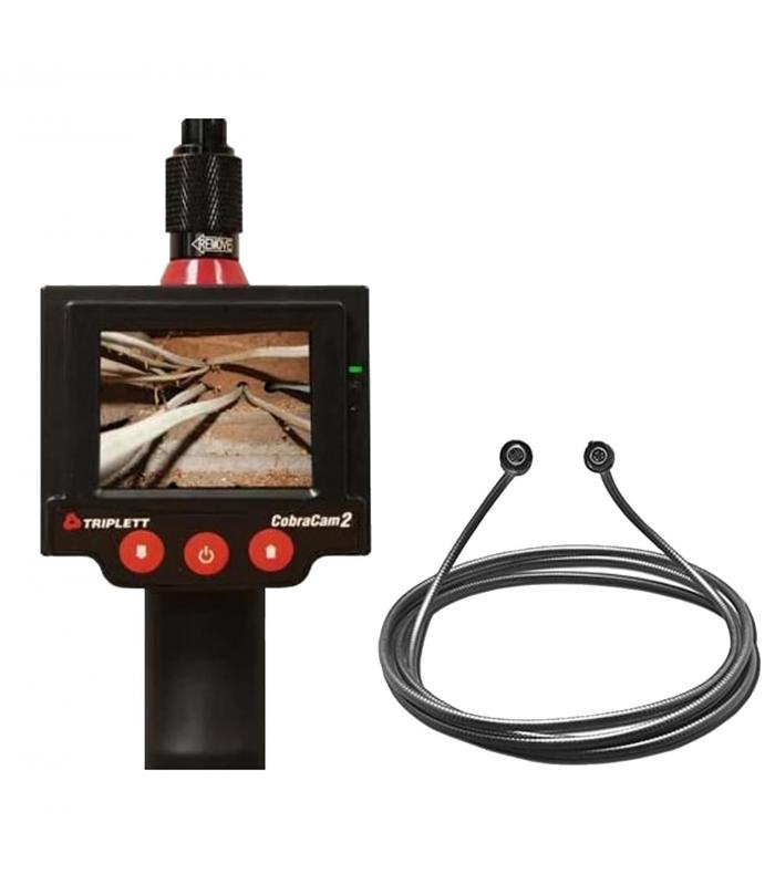 Triplett 8115 [8115-KITEXT3] Promo CobraCam 2 Inspection Camera with CC2-X3F Extension Cable 3''