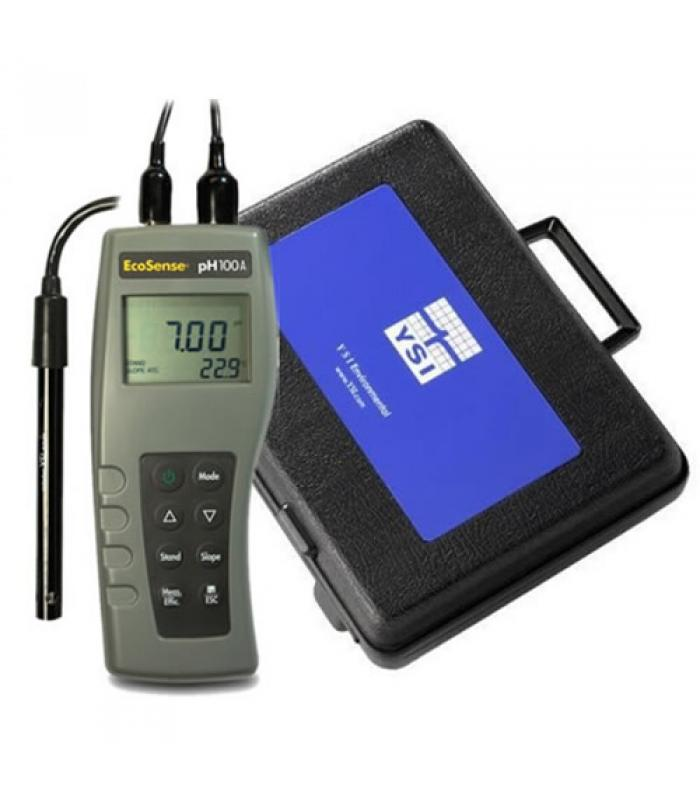 YSI EcoSense pH100A [606067] pH Meter w/ 1m Cable and Case
