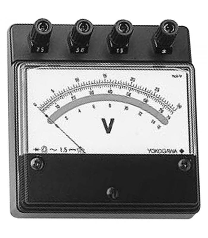 Yokogawa E Series [205205] AC Voltmeter, Minature-size Portable 3/7.5/15 V
